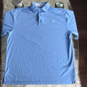 FJ Blue Short-Sleeve Polo